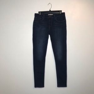 Levi's 535 Super Skinny Dark Wash Jeans (J109)